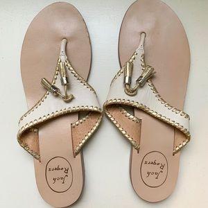 Alana Thong sandal with tassel detailing